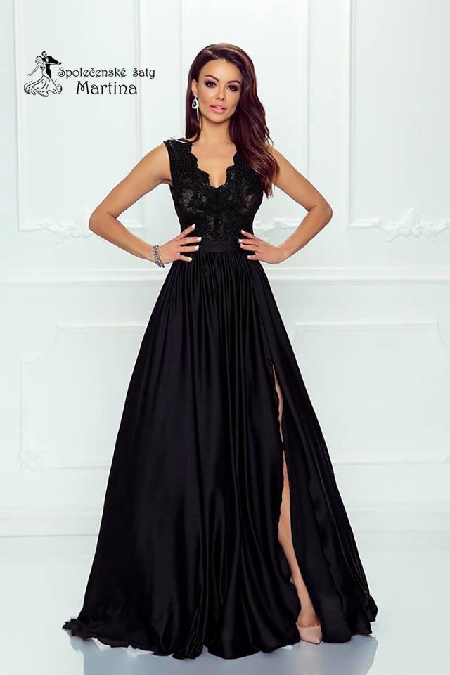 d036b57f370b Černé společenské šaty