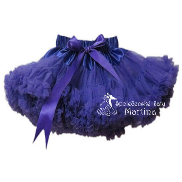 TUTU sukně 7-8 let (110) - fialová e47eab9938