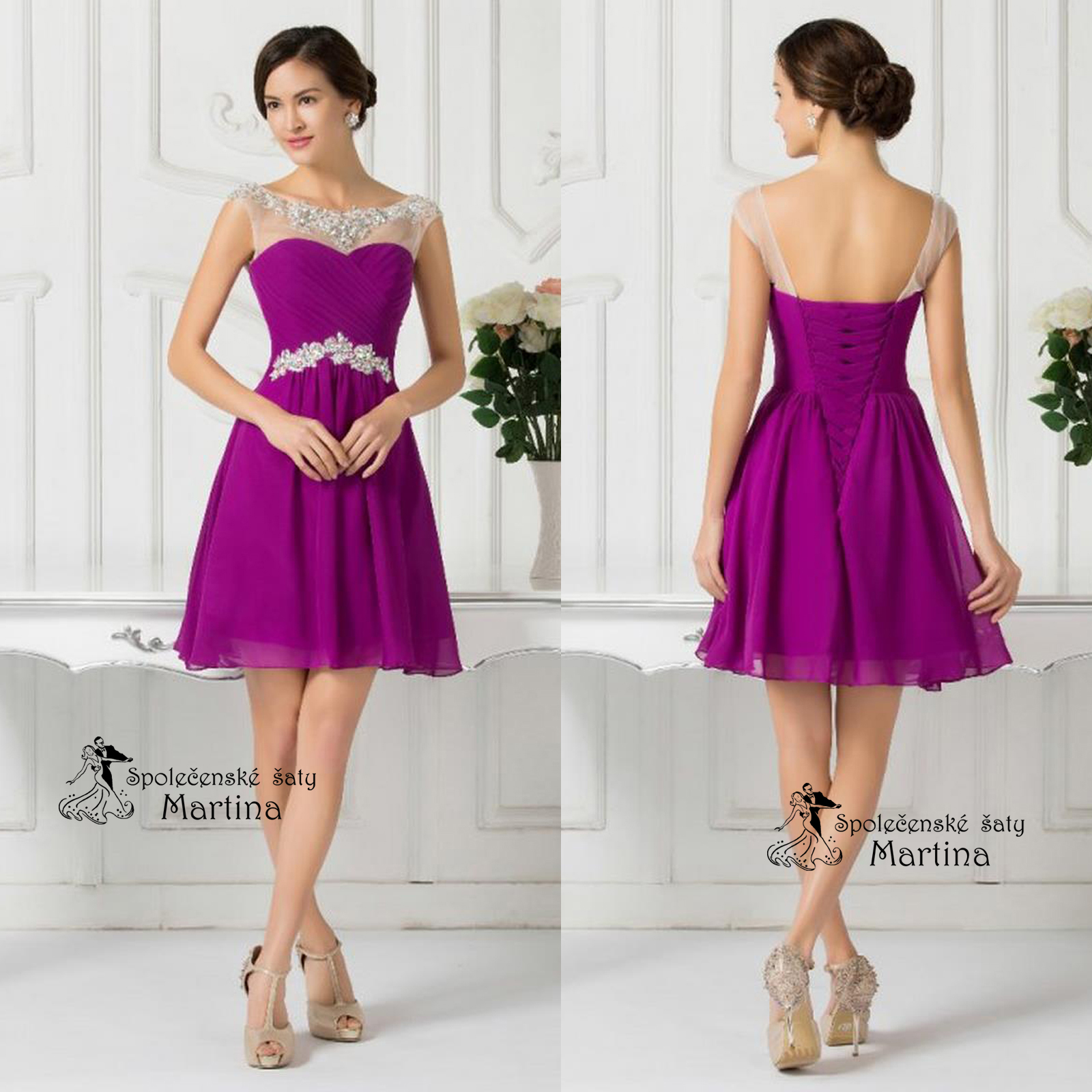 Společenské šaty S K L A D E M  169f63ba942