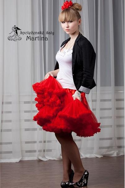 8860b9ee782 TUTU sukně ADULT - červená