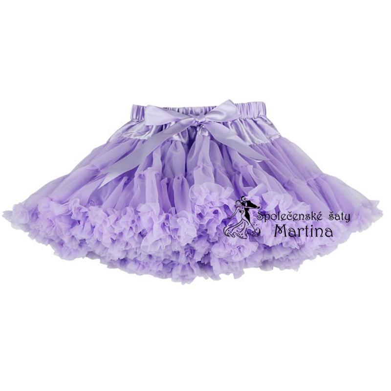 TUTU sukně 5-6 let (100) - světle fialová 7897c5c063