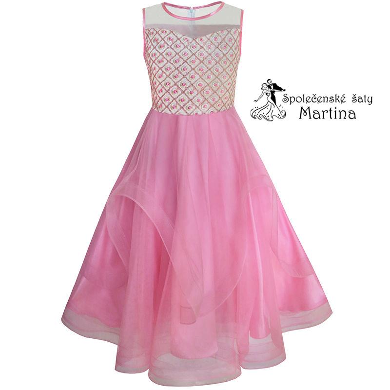 5849ff46447 Společenské šaty pro družičku