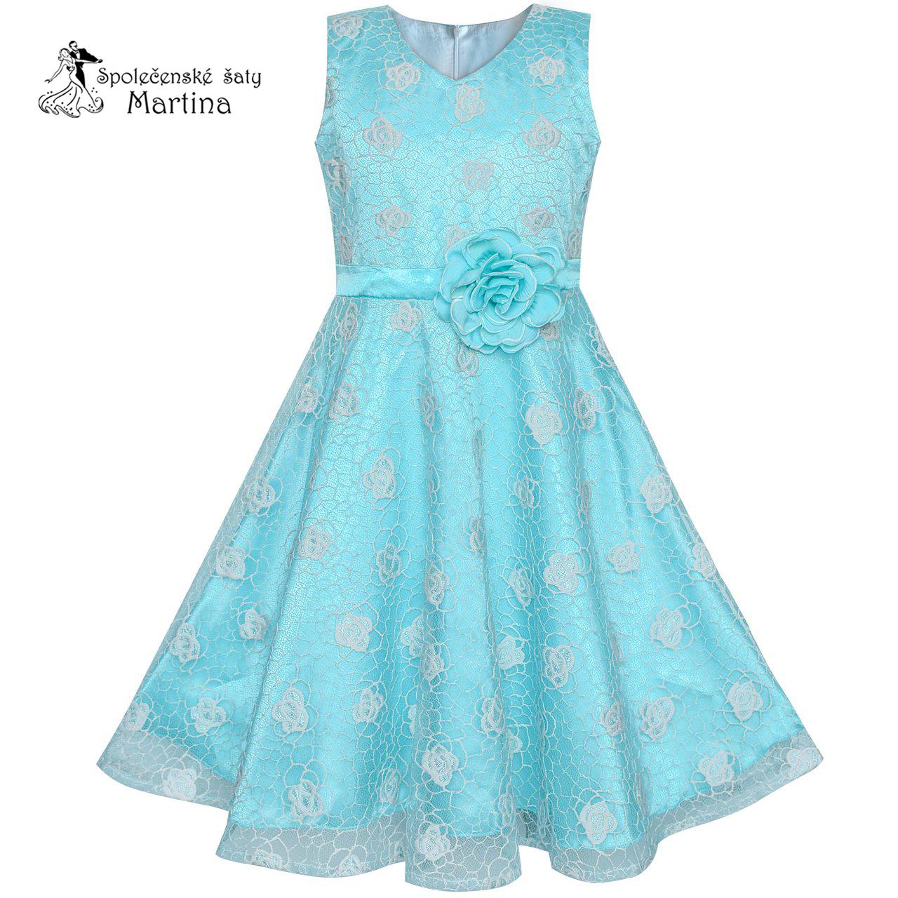 c7a10167562 Společenské šaty pro družičku