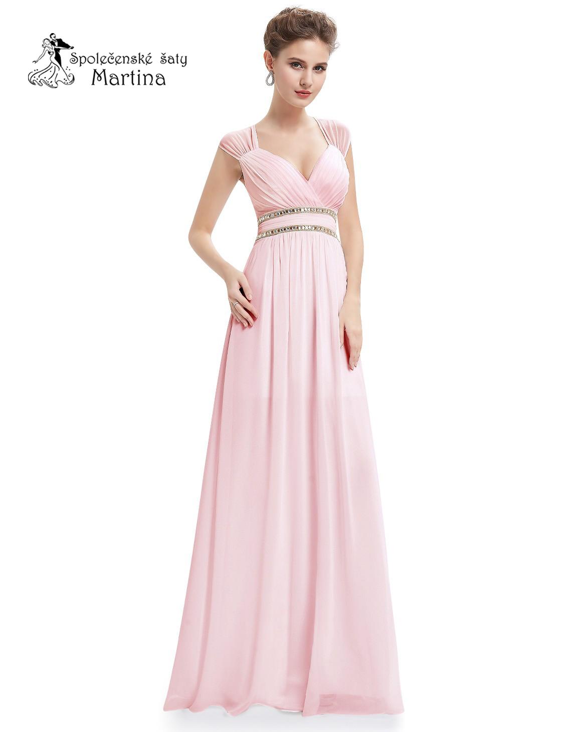 1c978c1e4117 Růžové šaty pro družičky antického střihu Ever Pretty vel. 42