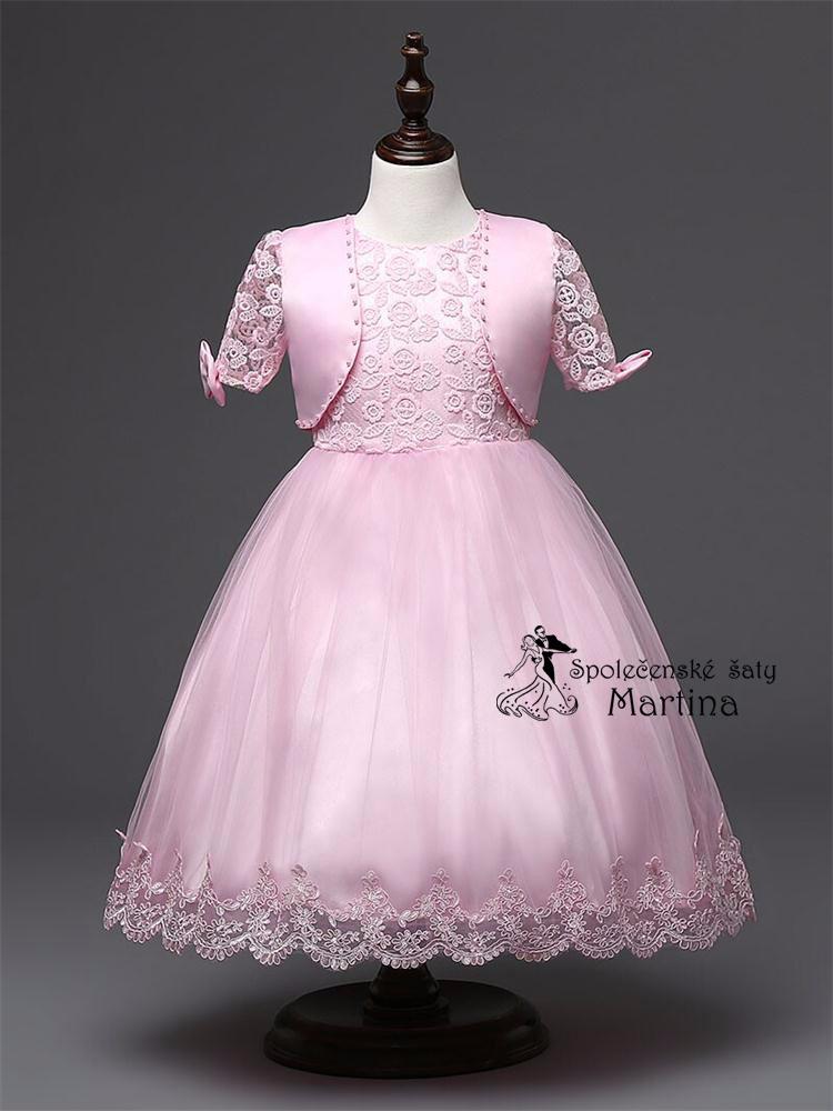e60e582de69c Společenské šaty pro družičku