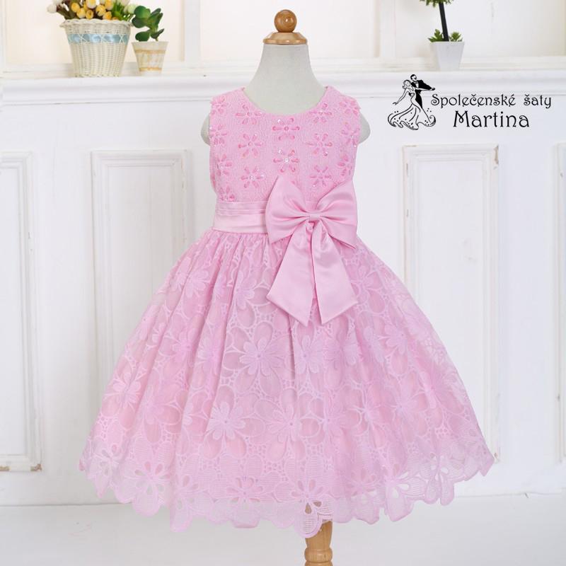 cf84f628300 Společenské šaty pro družičku