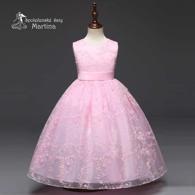 Dívčí společenské šaty  6216155b93
