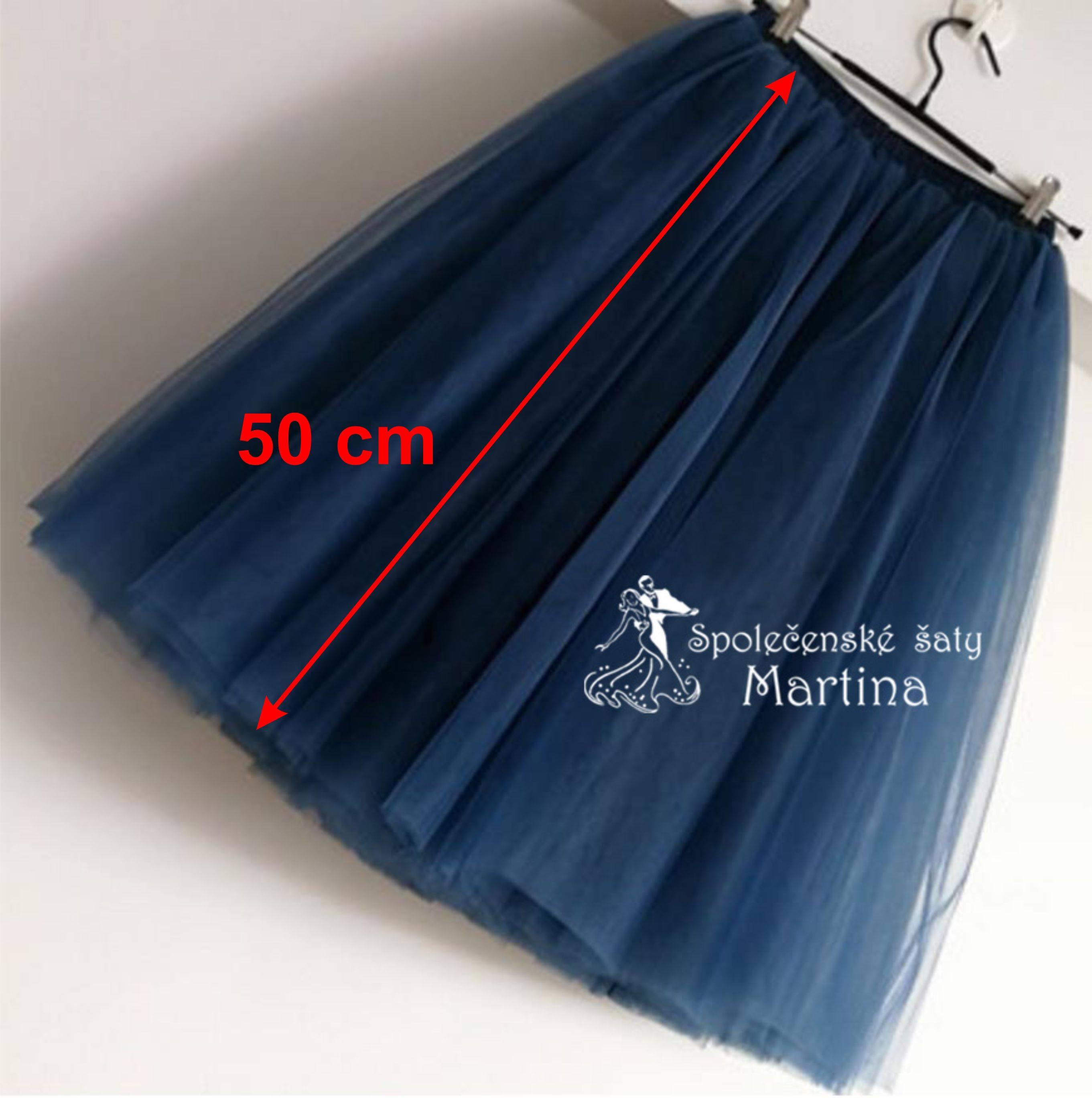 240641085fb9 7-vrstvá tylová sukně - 50 cm