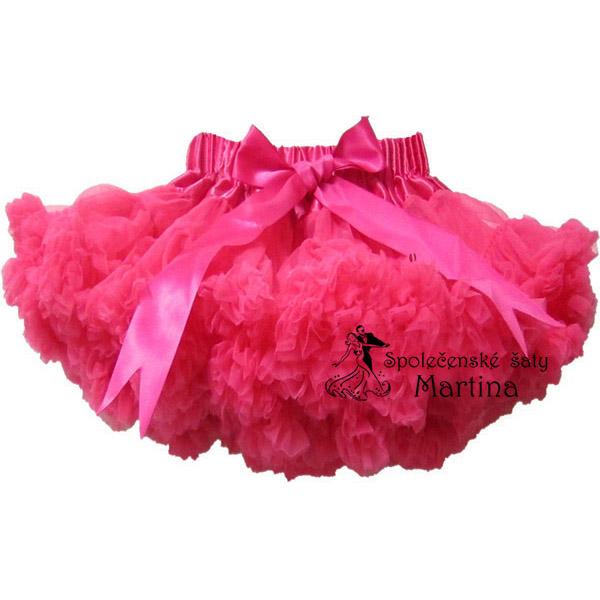 493afe55727 TUTU sukně 1-10 let - tmavě růžová