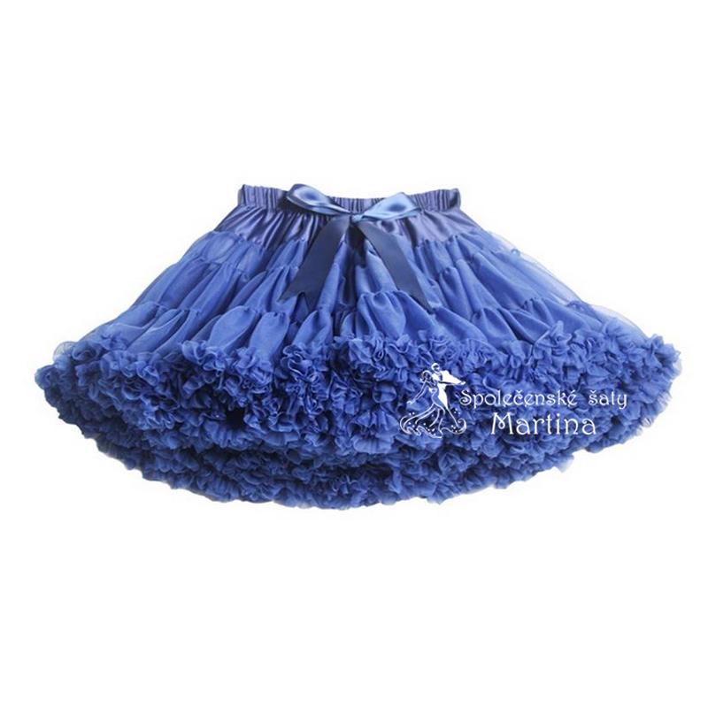 21882685434 TUTU sukně 1-10 let - inkoustově modrá