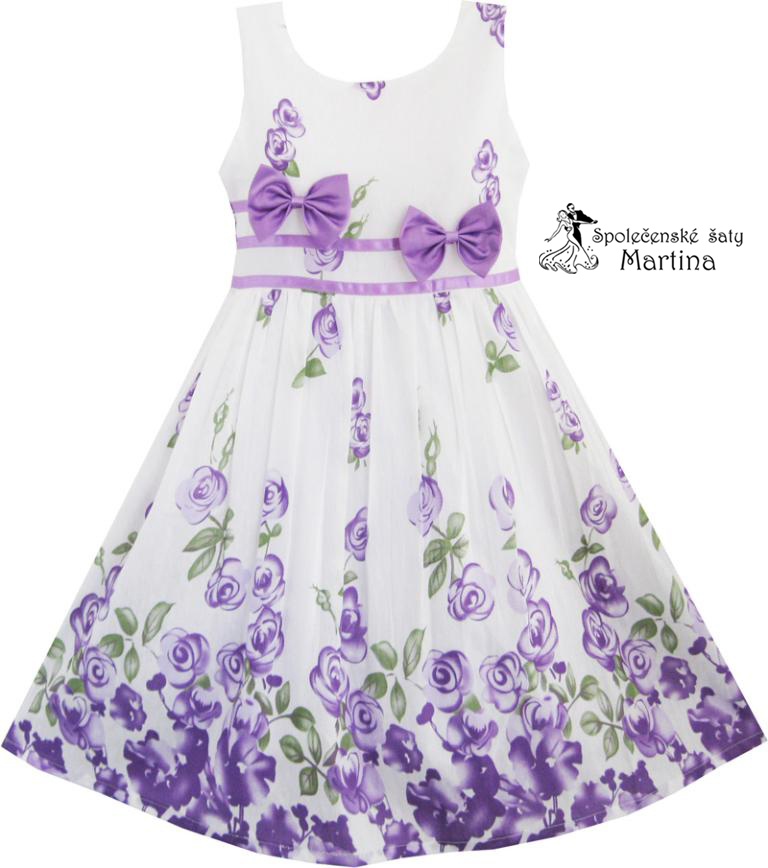 d186cf3f3f5 Dívčí společenské šaty   vel. 122