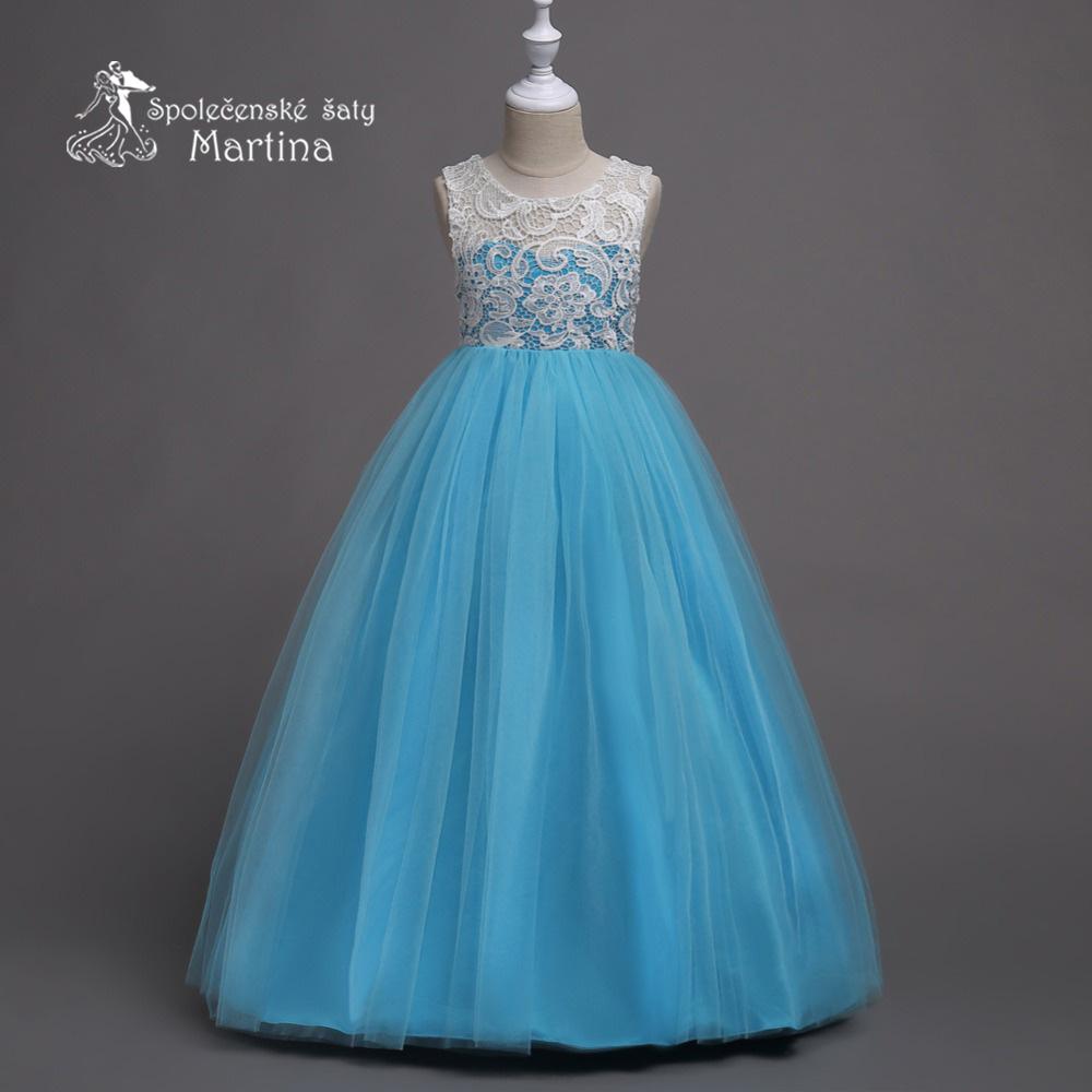 0e6c9a420d7 Dívčí společenské šaty
