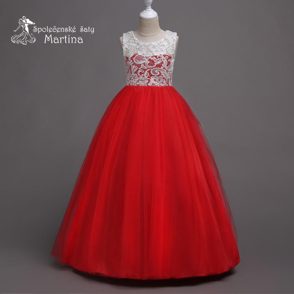 c9aaddd817b Dívčí společenské šaty