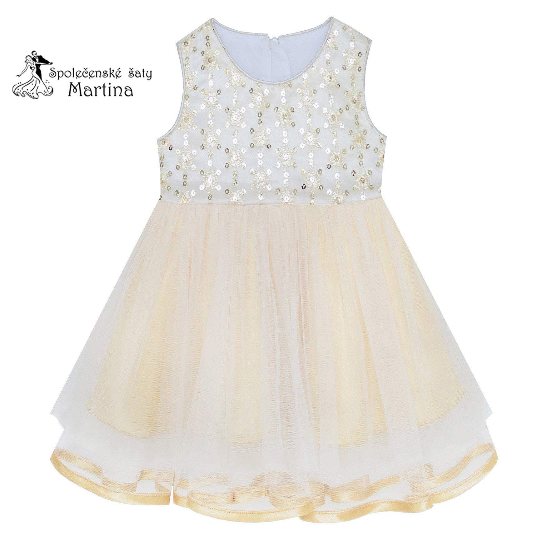 5028fc433322 Společenské šaty pro družičku