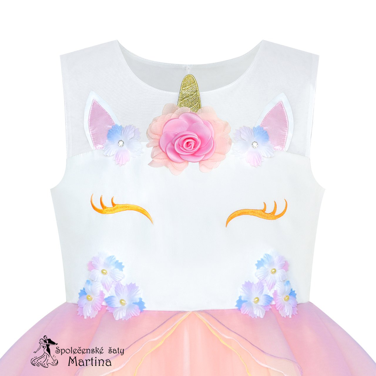 abfe251ba409 Dívčí šaty