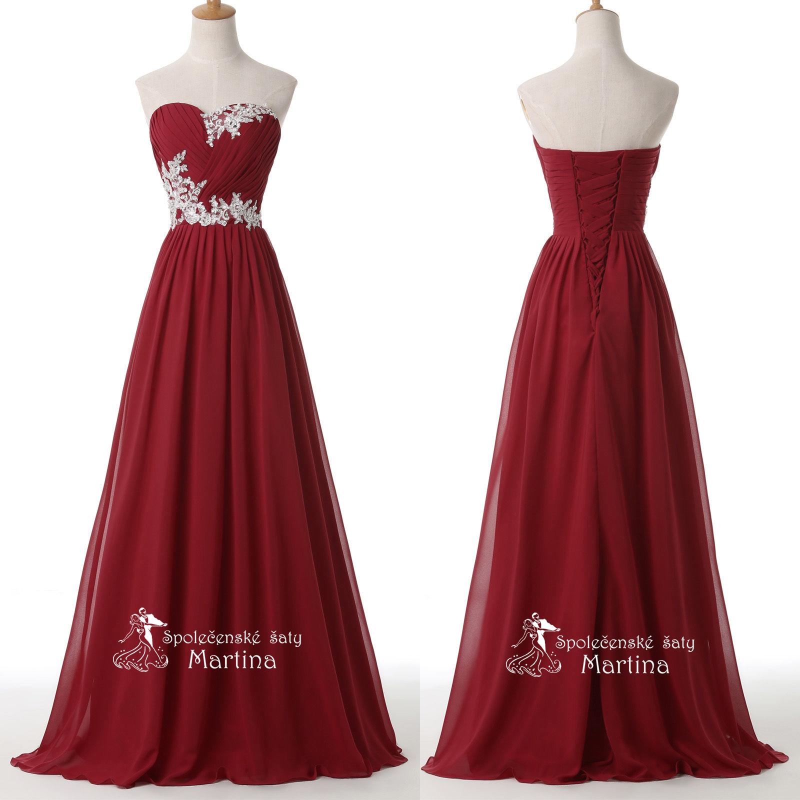 6d773b31c68b Červené společenské šaty antického střihu